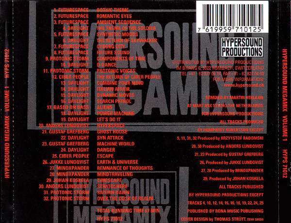 Various - HYPERSOUND Megamix Volume 1