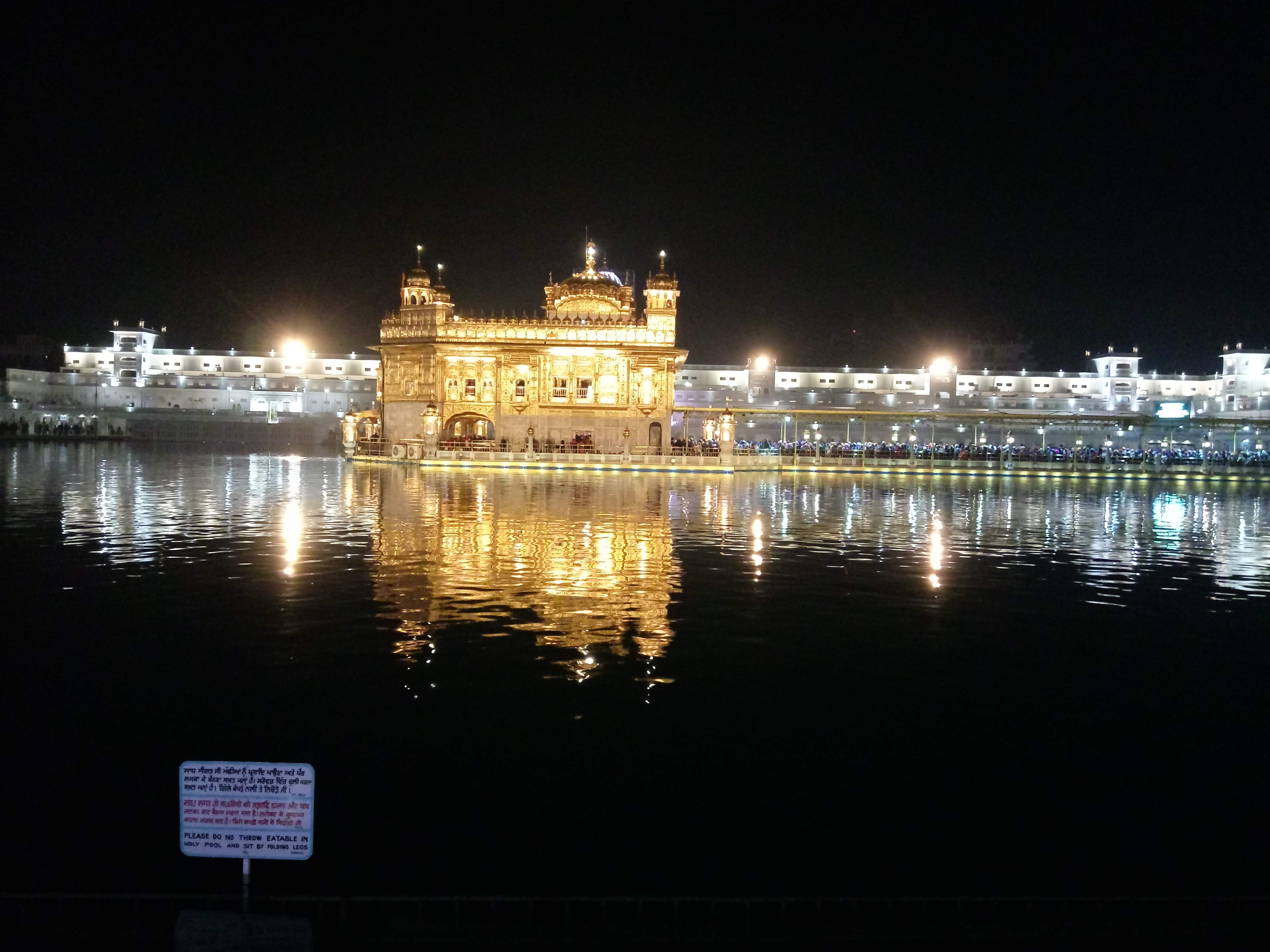 Goldener Tempel in Amritsar