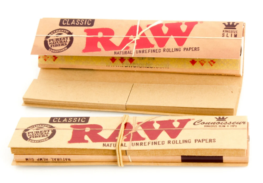 Raw Connoisseur mit Filter