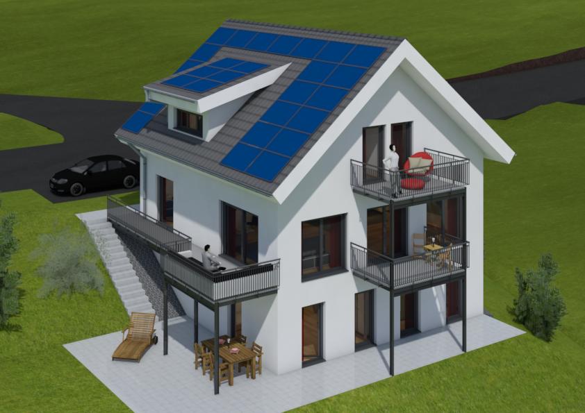 Baueingabe Haus E Variante 2 - Bild2png