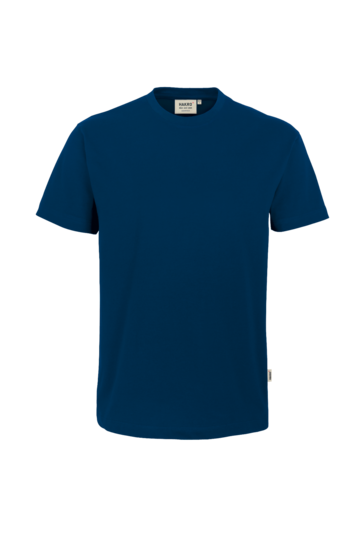 T-Shirt HAKRO Heavy-T 0293 Marine 03 mit Stickerei