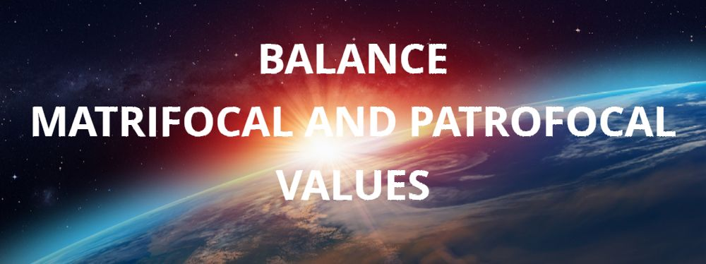 Balance Matrifocal And Patrifocal Values