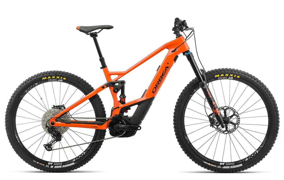 Orbea Wild FS M10 orange-schwarz Fully E-Mountainbike