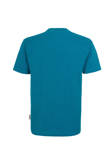 T-Shirt HAKRO Heavy-T 0293 Petrol 46 mit Stickerei