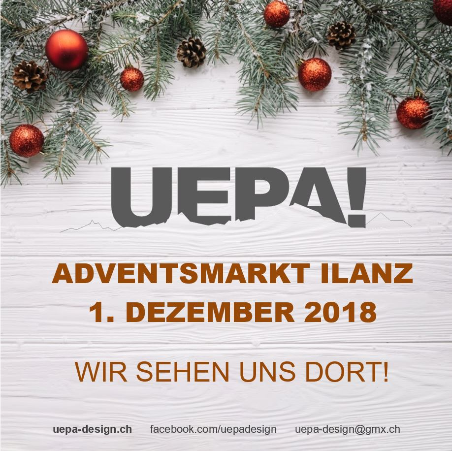 UEPA! am Adventsmarkt Ilanz