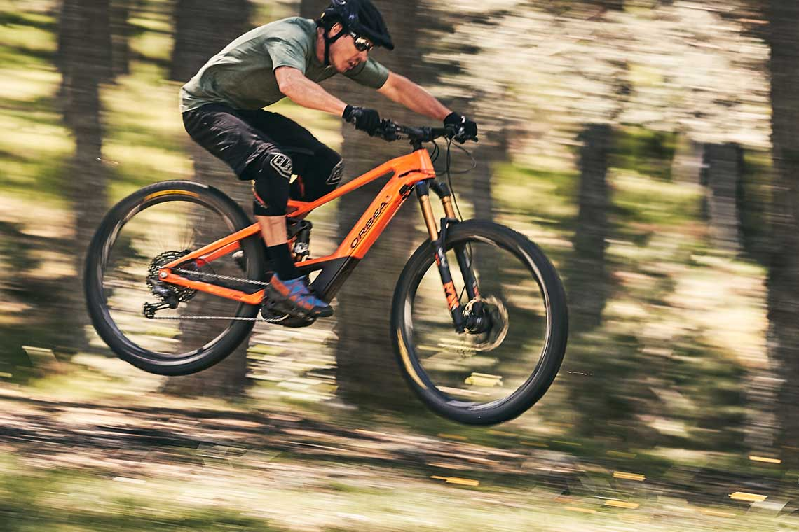 Orbea Wild FS M-Team Fully Trail E-Mountainbike