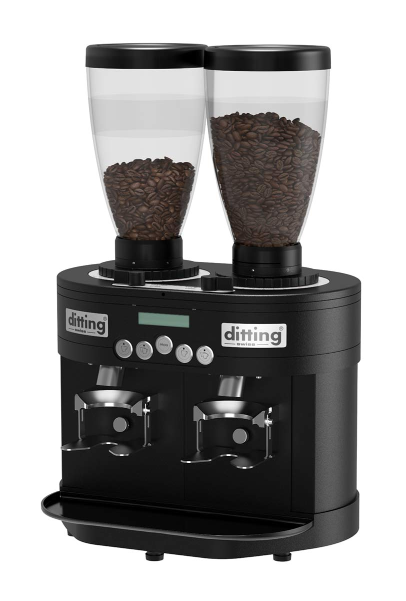 Ditting Espressomühle KED 640 Black Twin