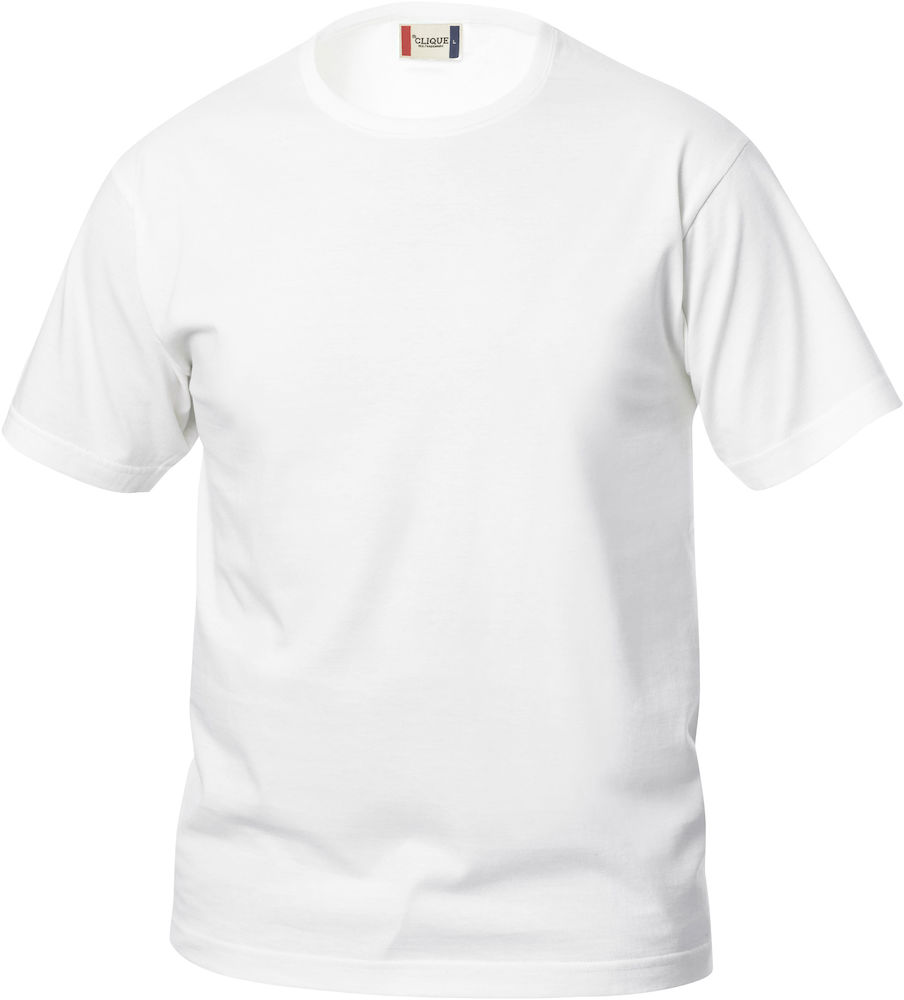 Kinder T-Shirt CLIQUE Basic-T Junior 029032 Weiss 00