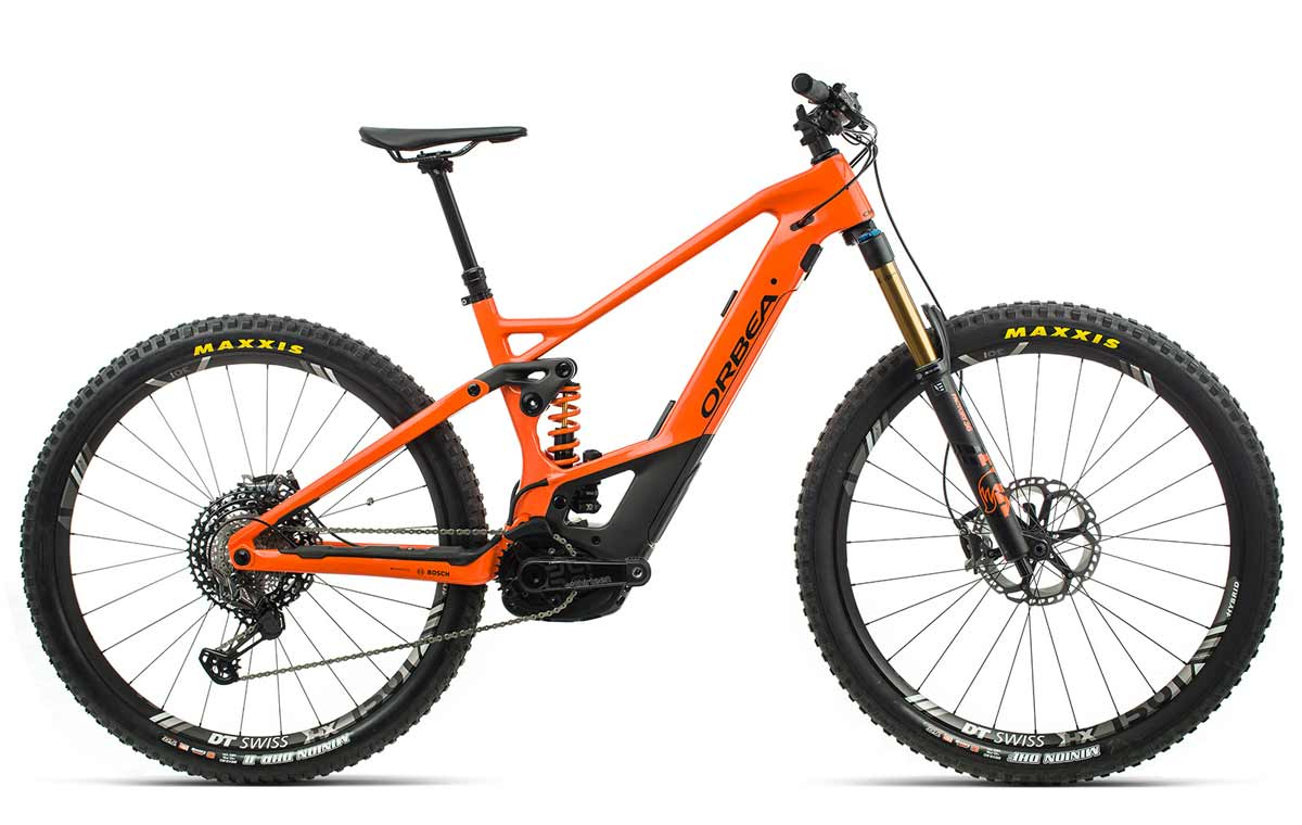 Orbea Wild FS M-LTD orange-schwarz Fully E-Mountainbike