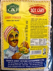 Vietnam Curry Powder Indian Chef 500 Gramm