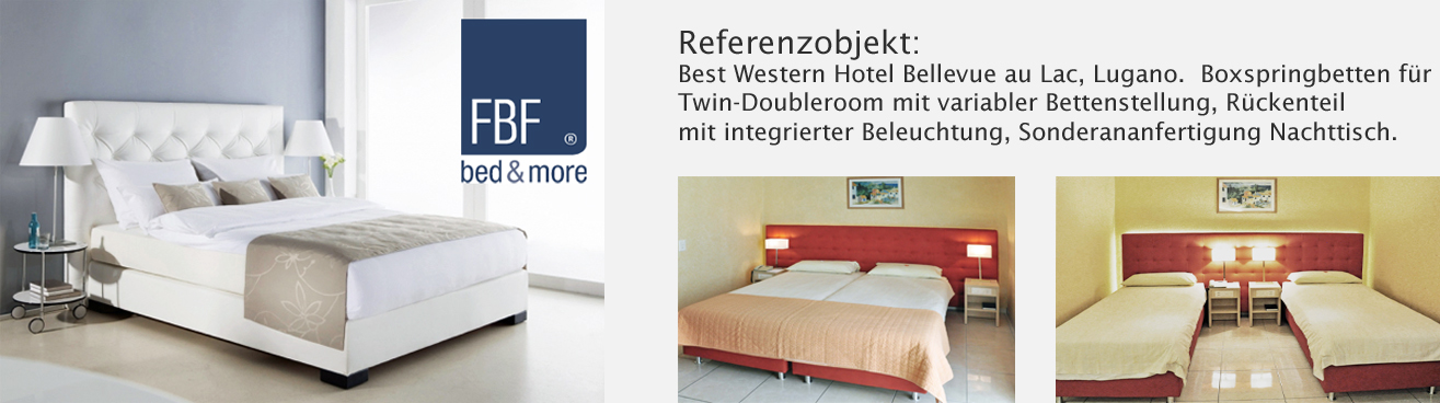 FBF Bed&More, Best Western Hotel, Lugano