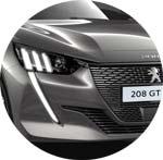 Peugeot 208 Grau Platinium