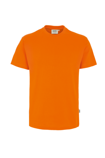T-Shirt HAKRO Heavy-T 0293 Orange 27 mit Stickerei