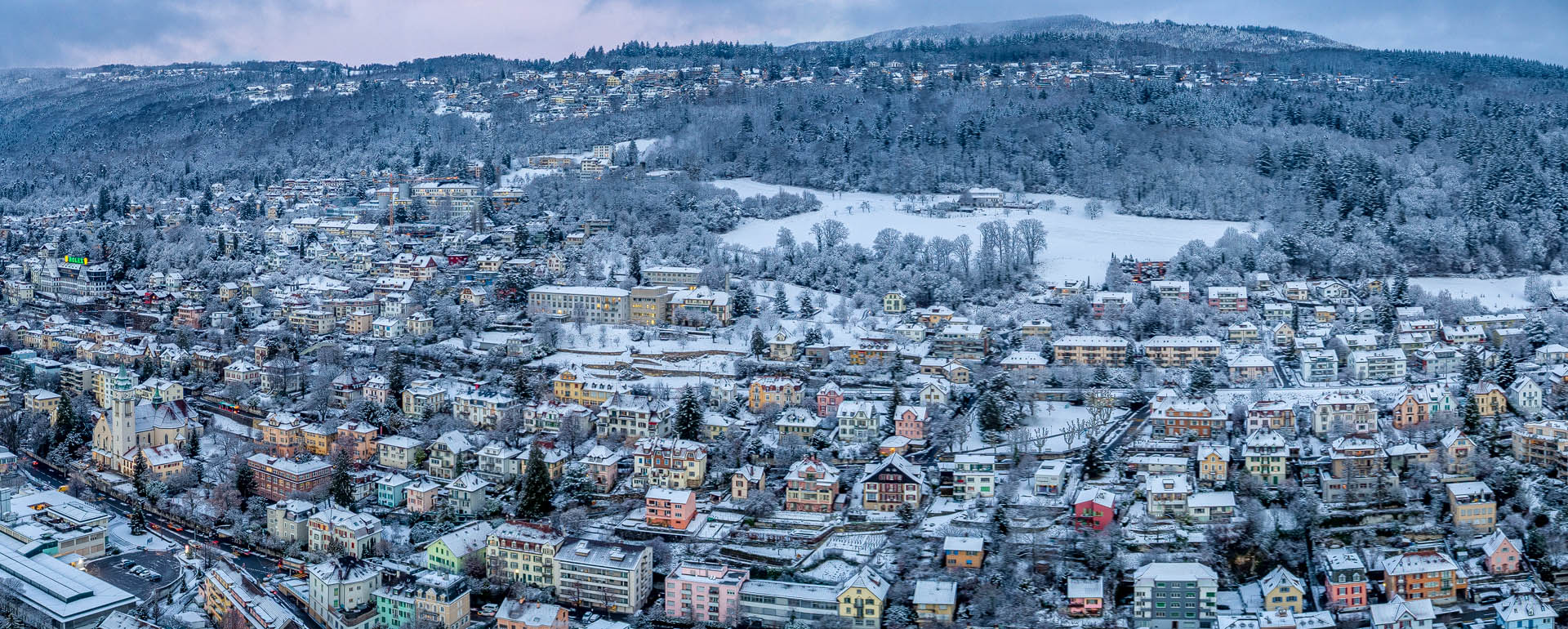 Winter in Biel-Bienne