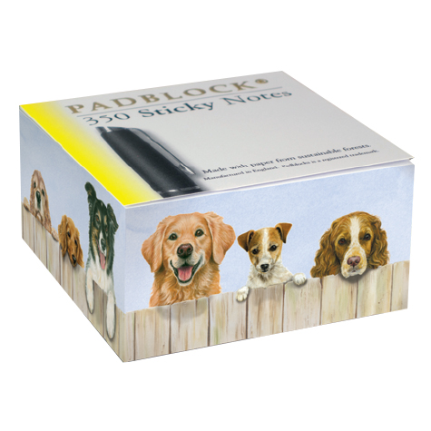 "Post-It Block ""Hunde"""