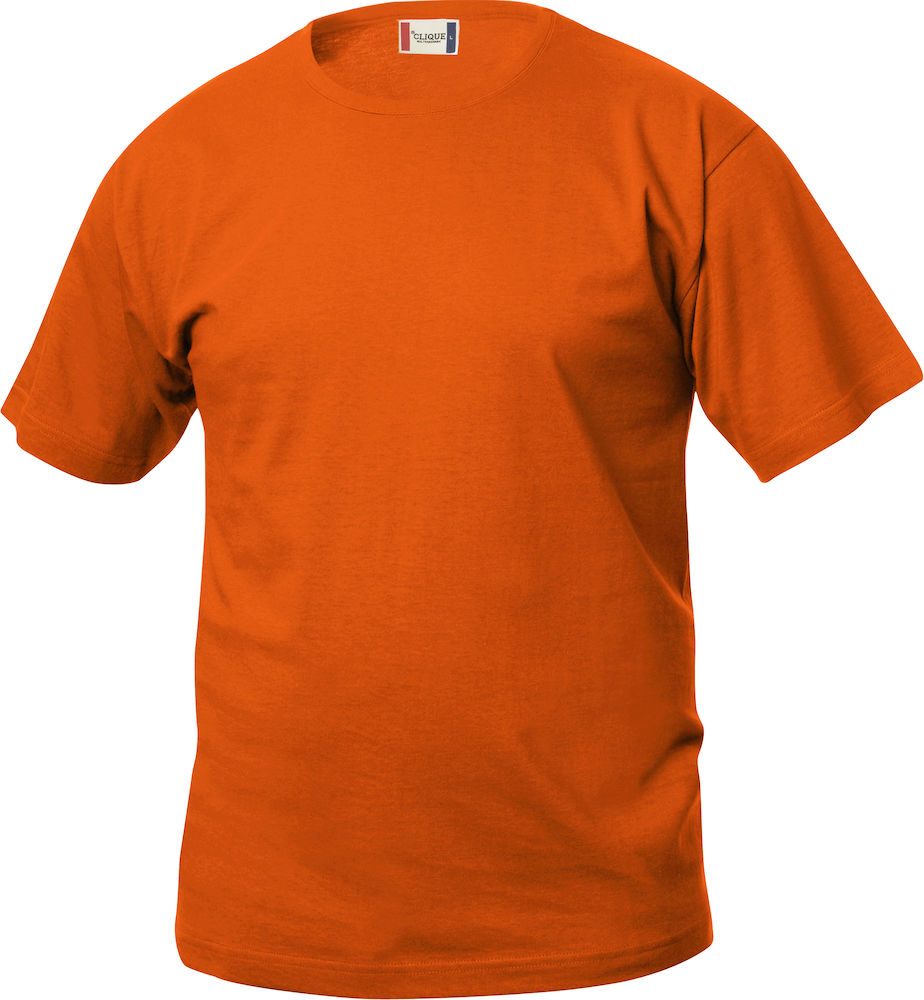 Kinder T-Shirt CLIQUE Basic-T Junior 029032 Blutorange 18