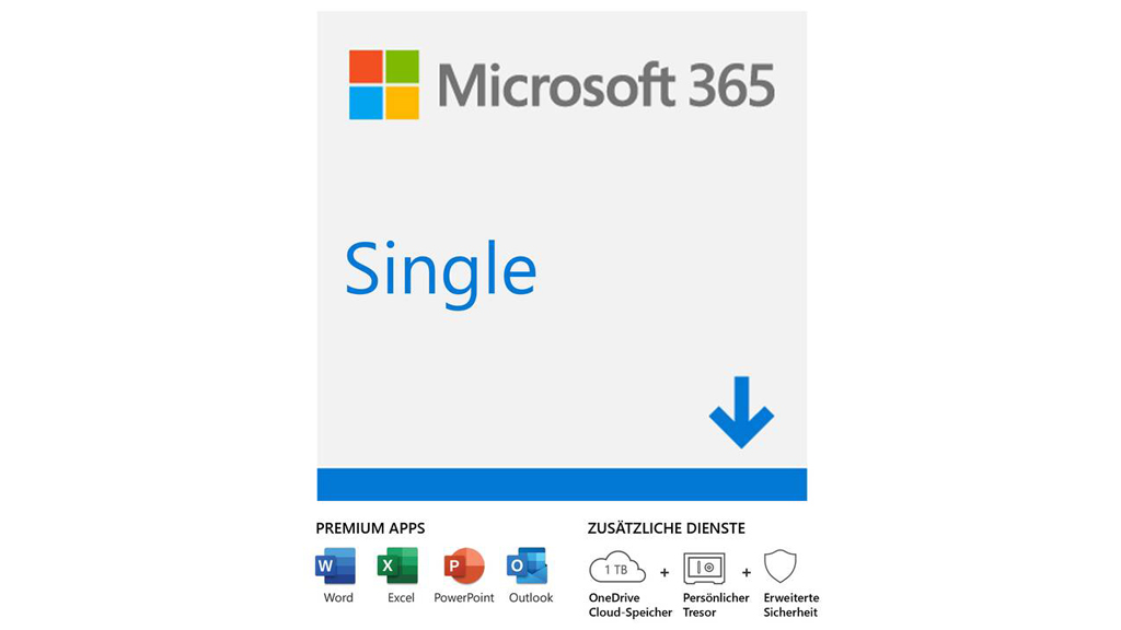 Microsoft 365 Single (1 User, 1 Jahr)