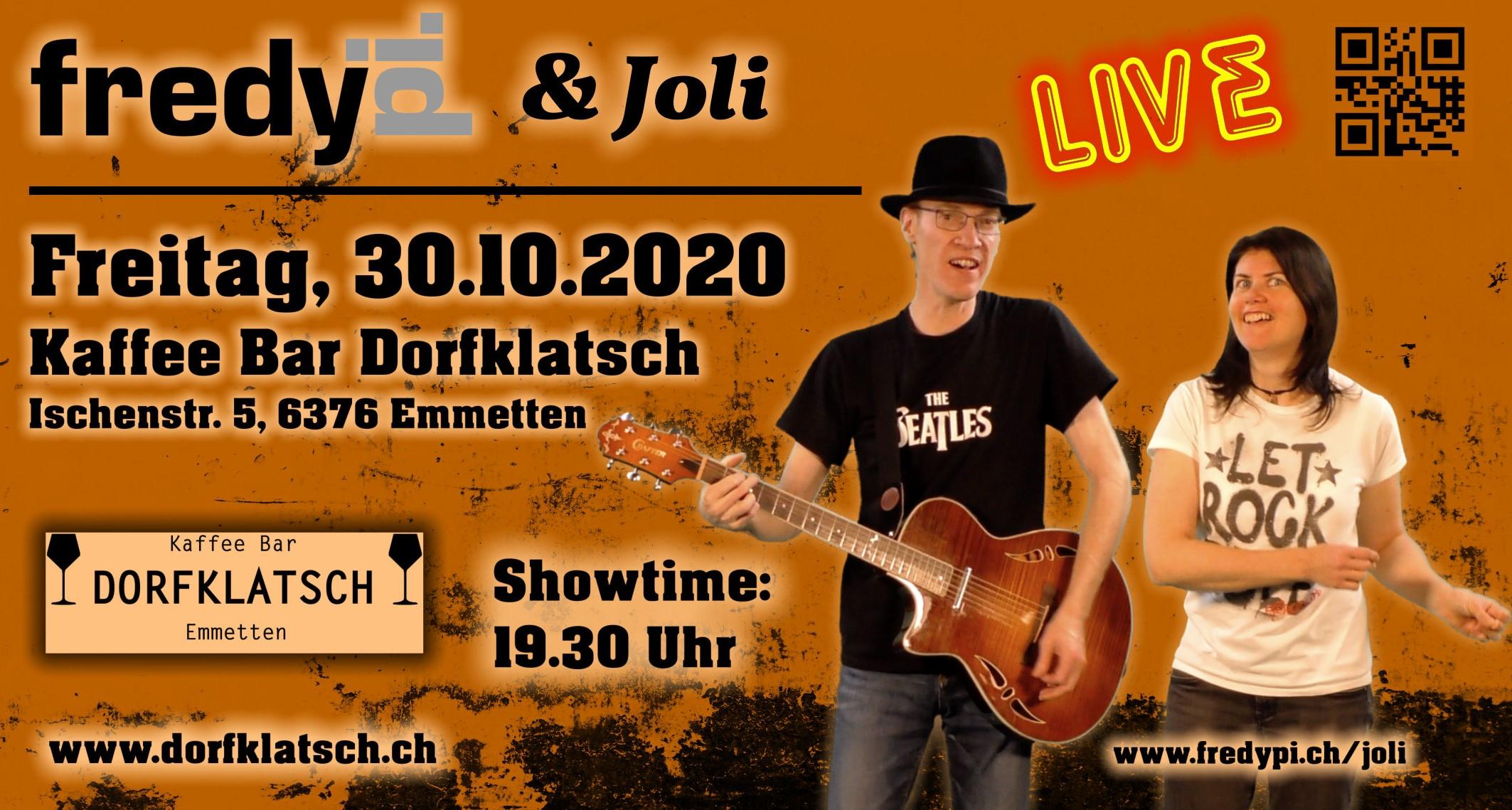 2020-10-30 - Fredy Pi  Joli - Dorfklatsch Emmettenjpg