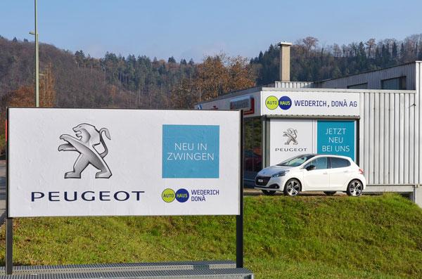 Peugeot Vertretung Zwingen