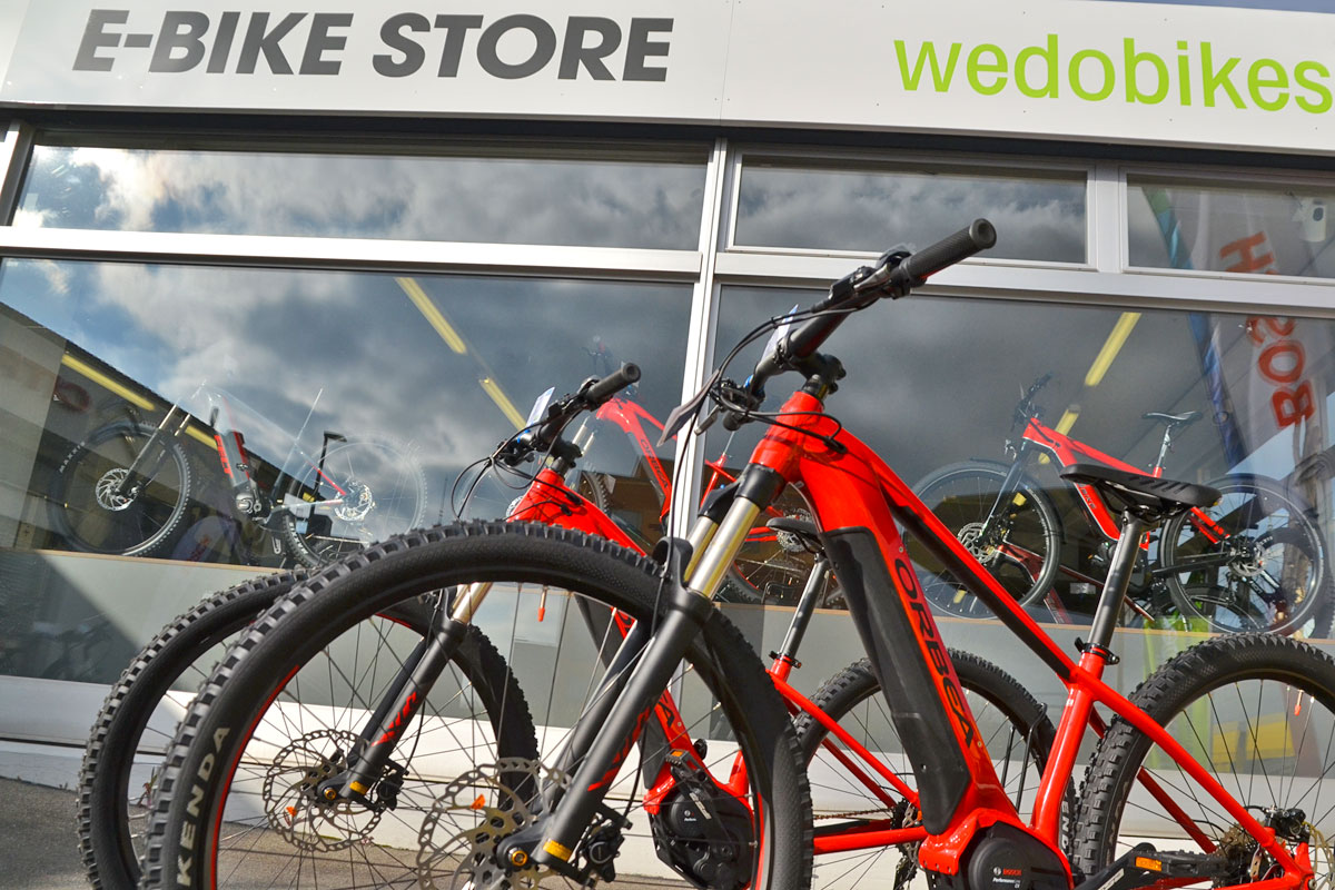 E-Bike Store in Oberwil