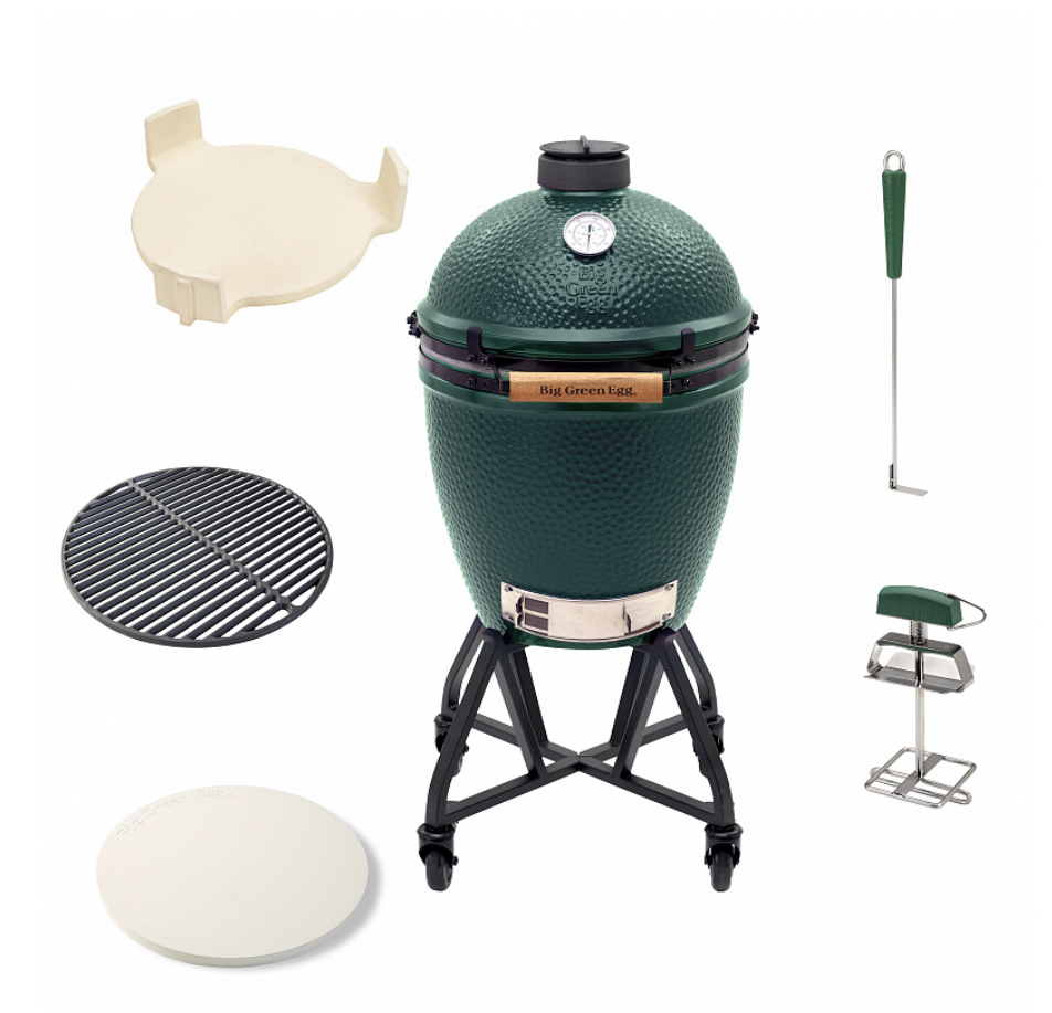 Large Big Green Egg Starter Paket