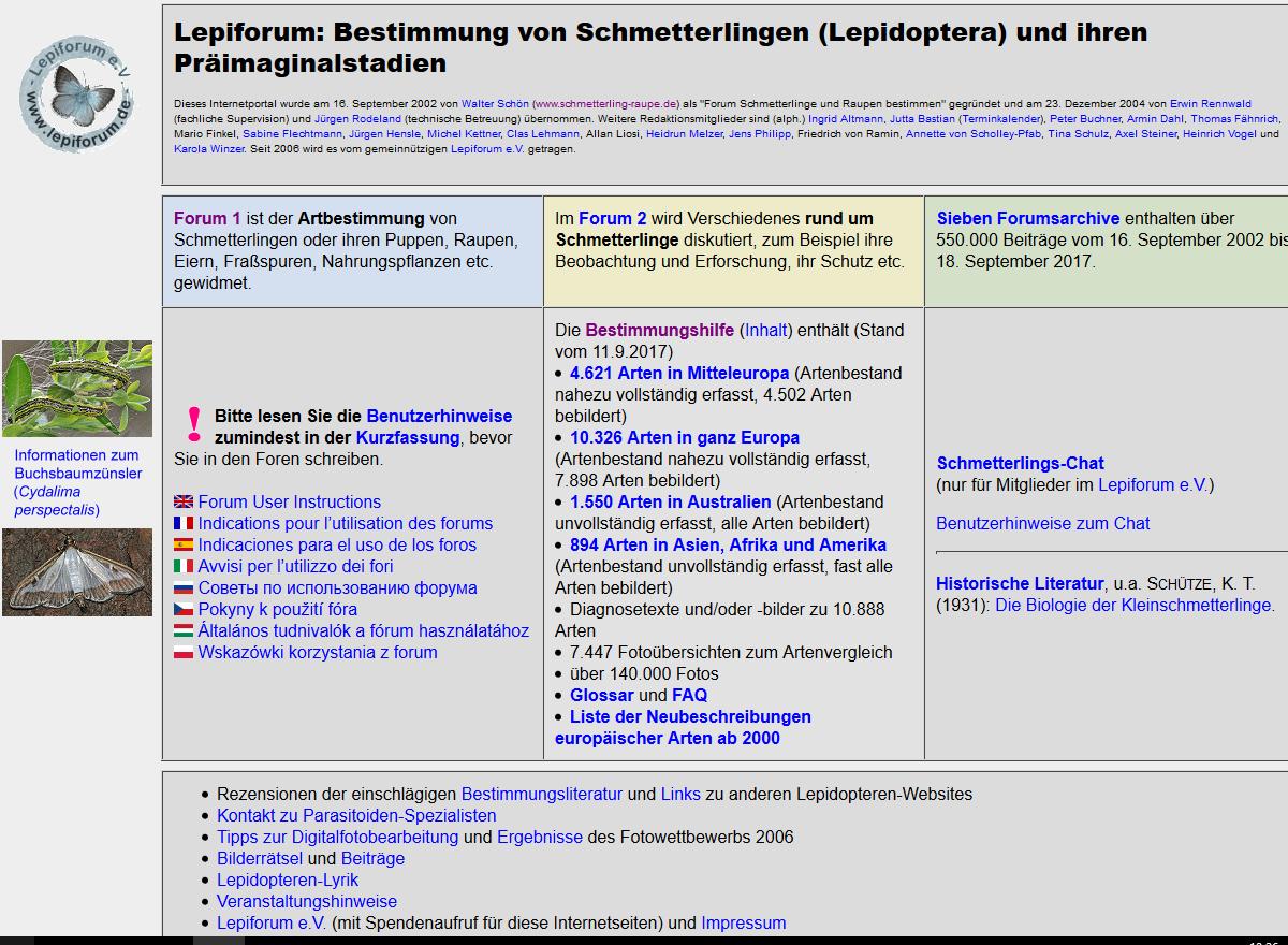 Lepiforum