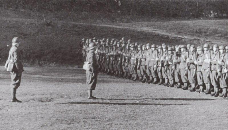 erste Truppen der poln Armee in Frankreichjpg
