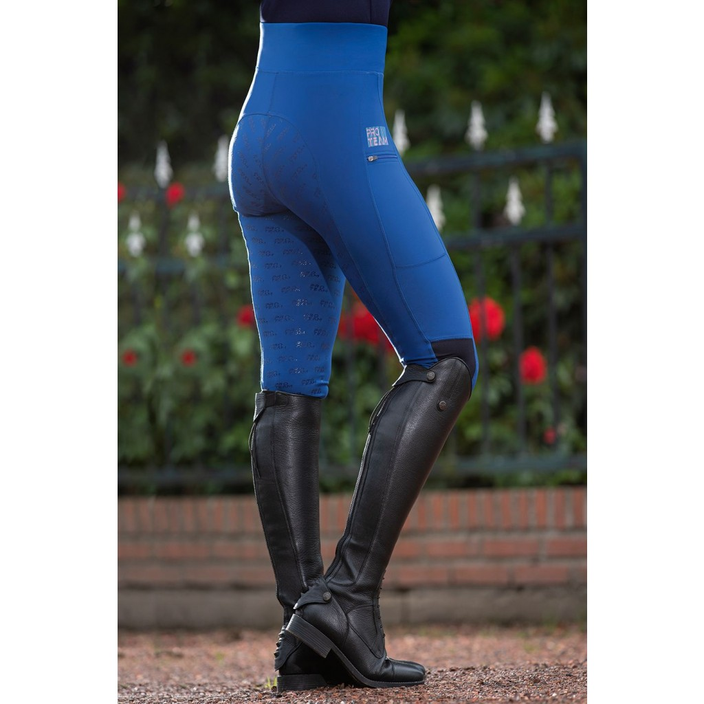 Reitleggins -Advanced- Silikon-Vollbesatz