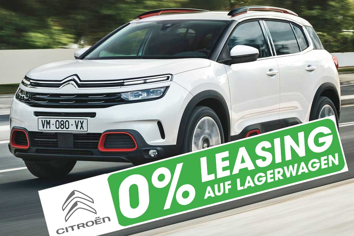 Citroen C5 Aircross mit 0 Prozent Leasing in Basel