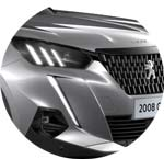 Peugeot 2008 SUV Silber Artense Metallic