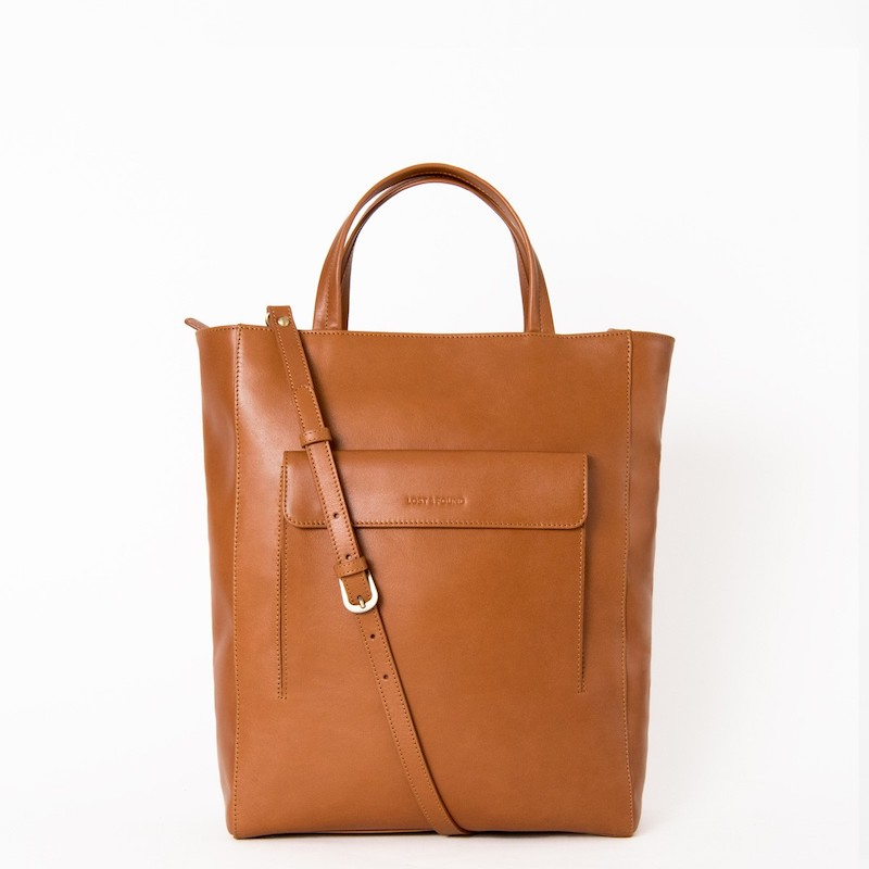 Shopper Klein Caramel