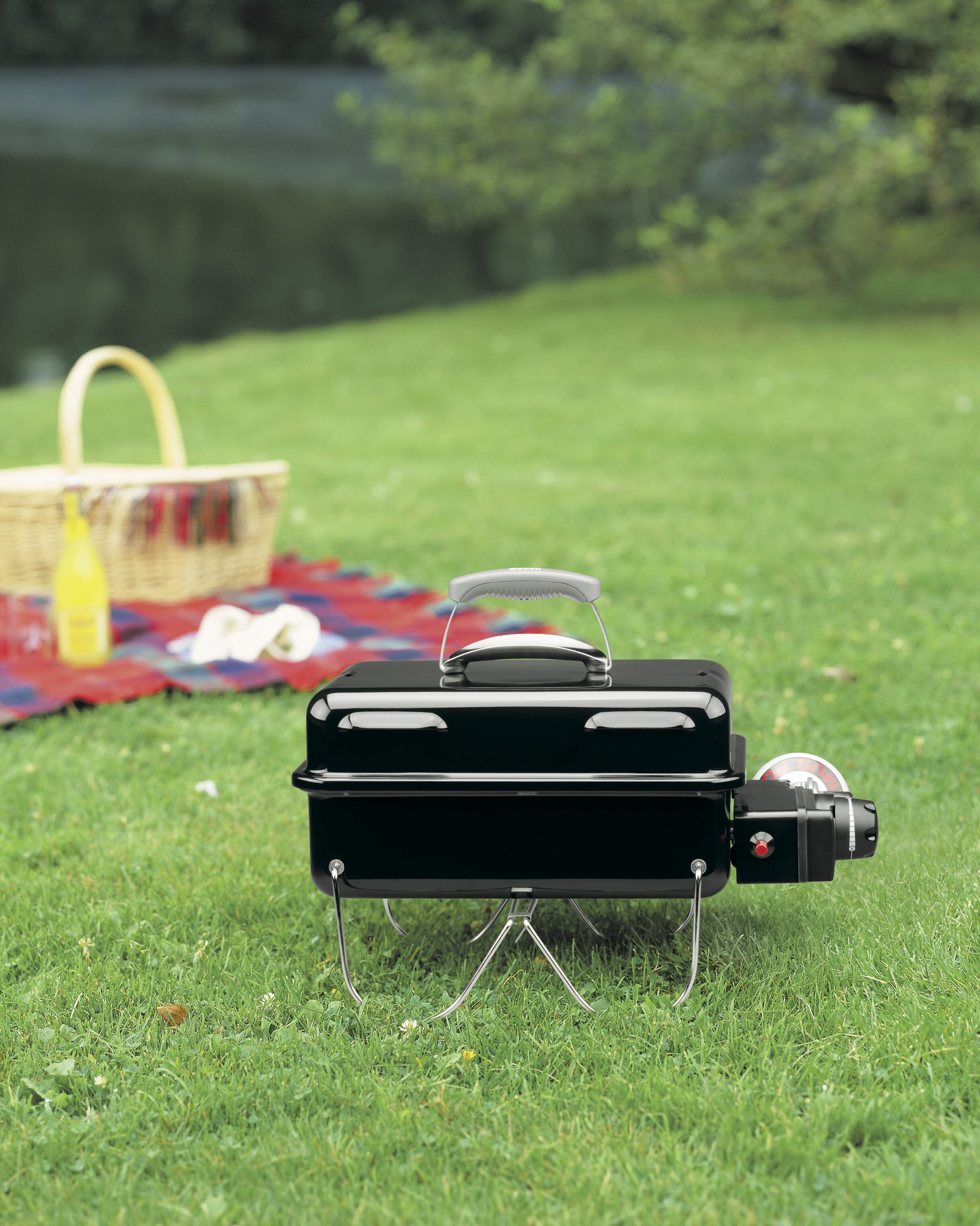 Gasgrill Go-Anywhere™, black