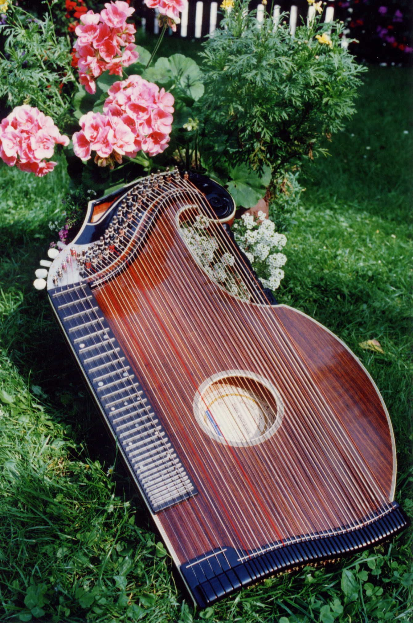 Zither Modell