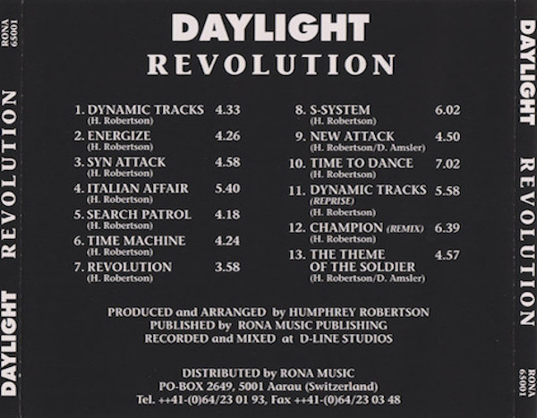 Daylight - Revolution