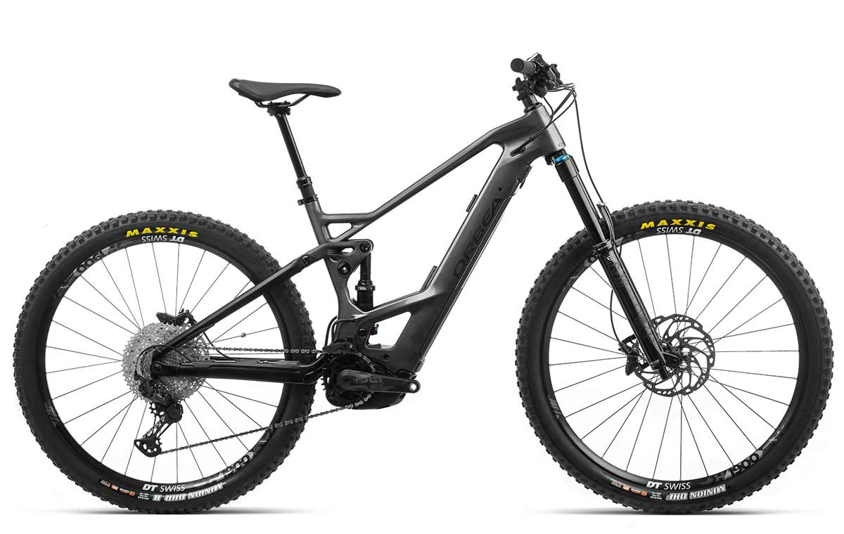 Orbea Wild FS M20 anthrazit-schwarz Fully E-Mountainbike