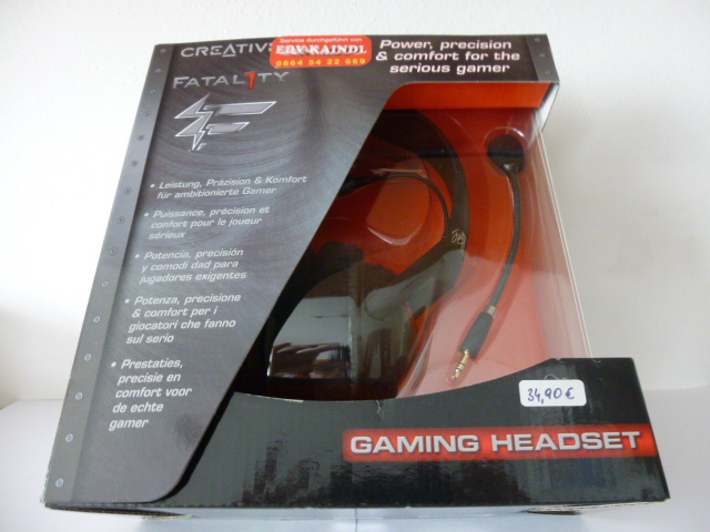 Creativ Fatal1ty Gaming Headset