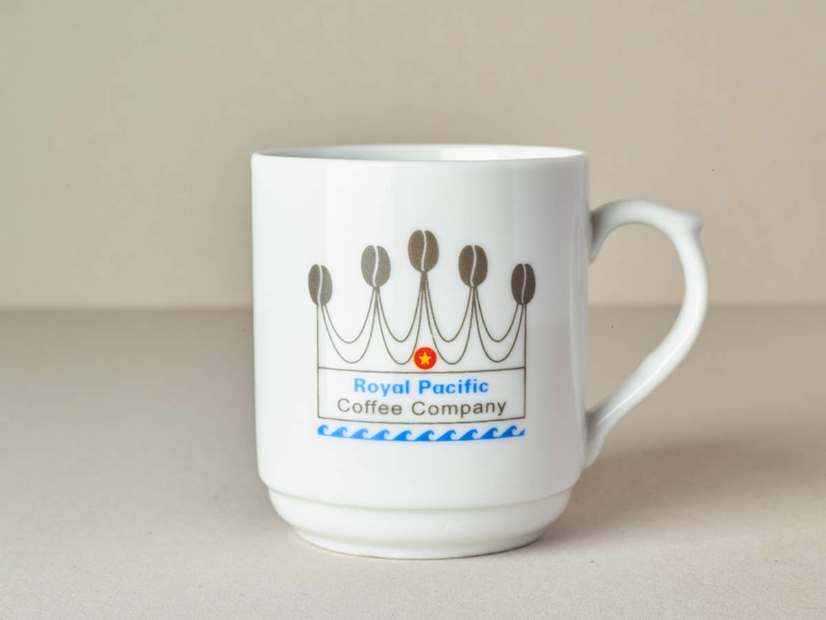 Royal Coffee Mug mit Krone 200ml