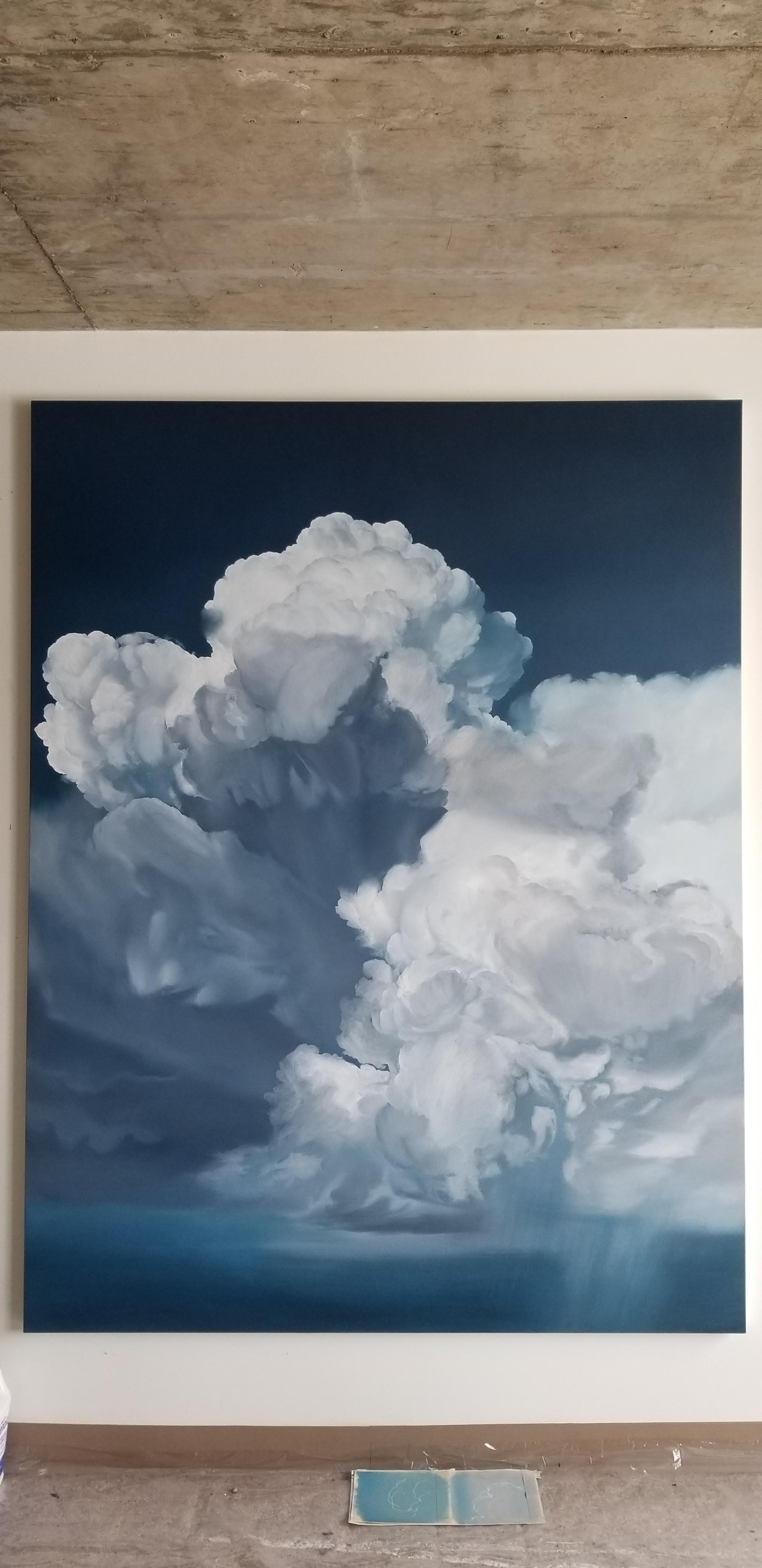 H. 198 cm x L. 152 cm. oil on canvas. 2021.
