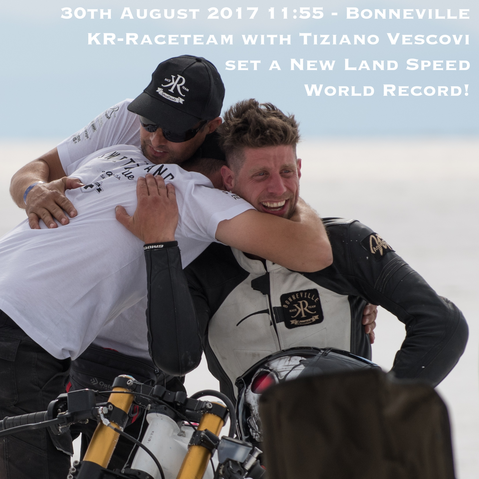 30.08.2017 - 11:55 - Bonneville - New Land Speed World Record! 167.05 MPH / 268.85 KPH