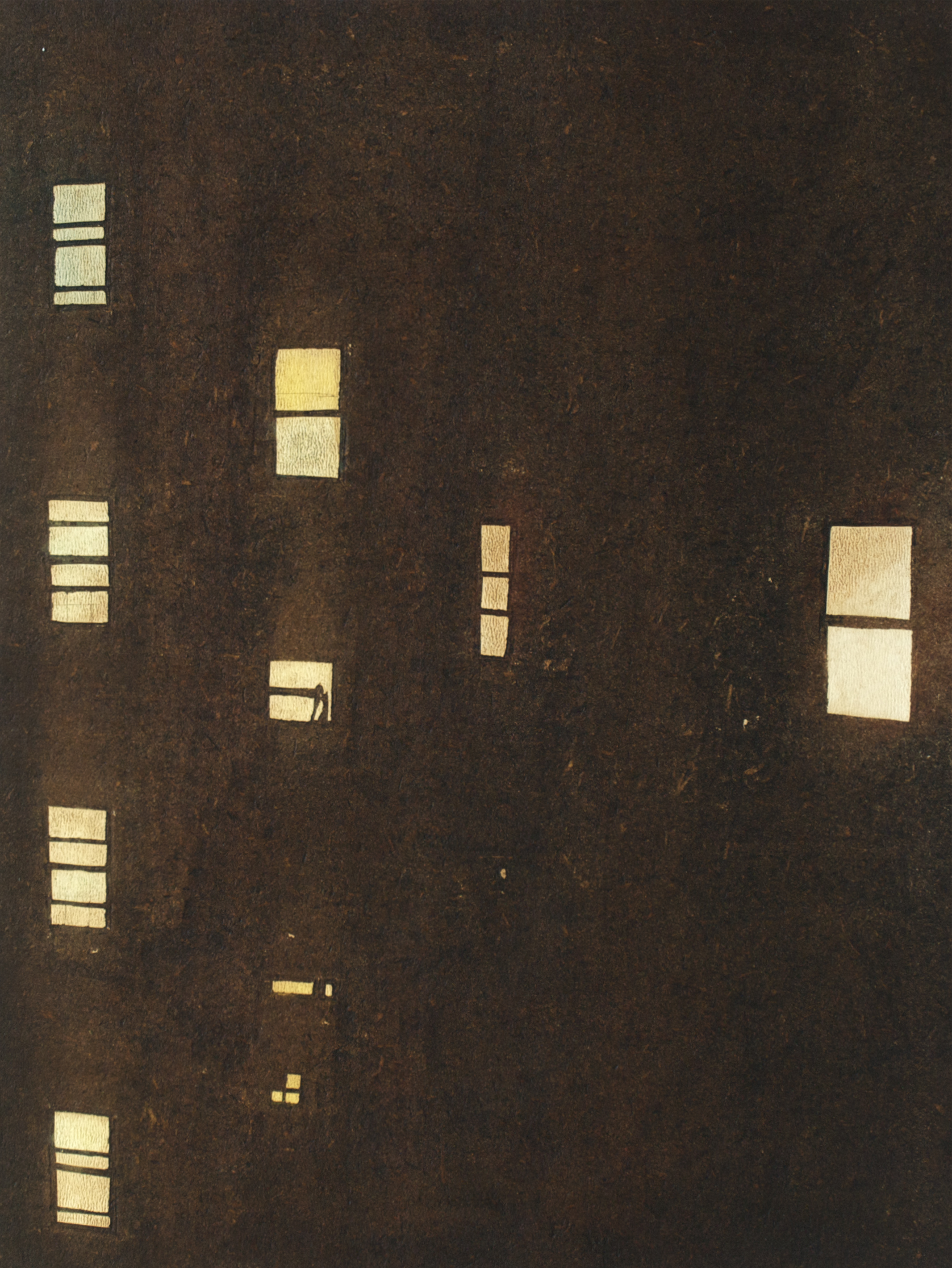 "Windows on First Ave, 2010 | oil on panel | 18x24cm (7""x9.4"")"