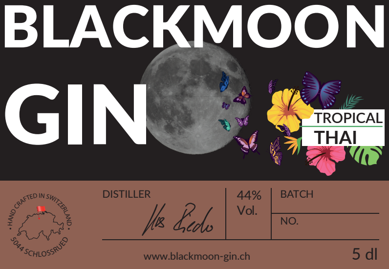 Blackmoon Gin Tropical Thai