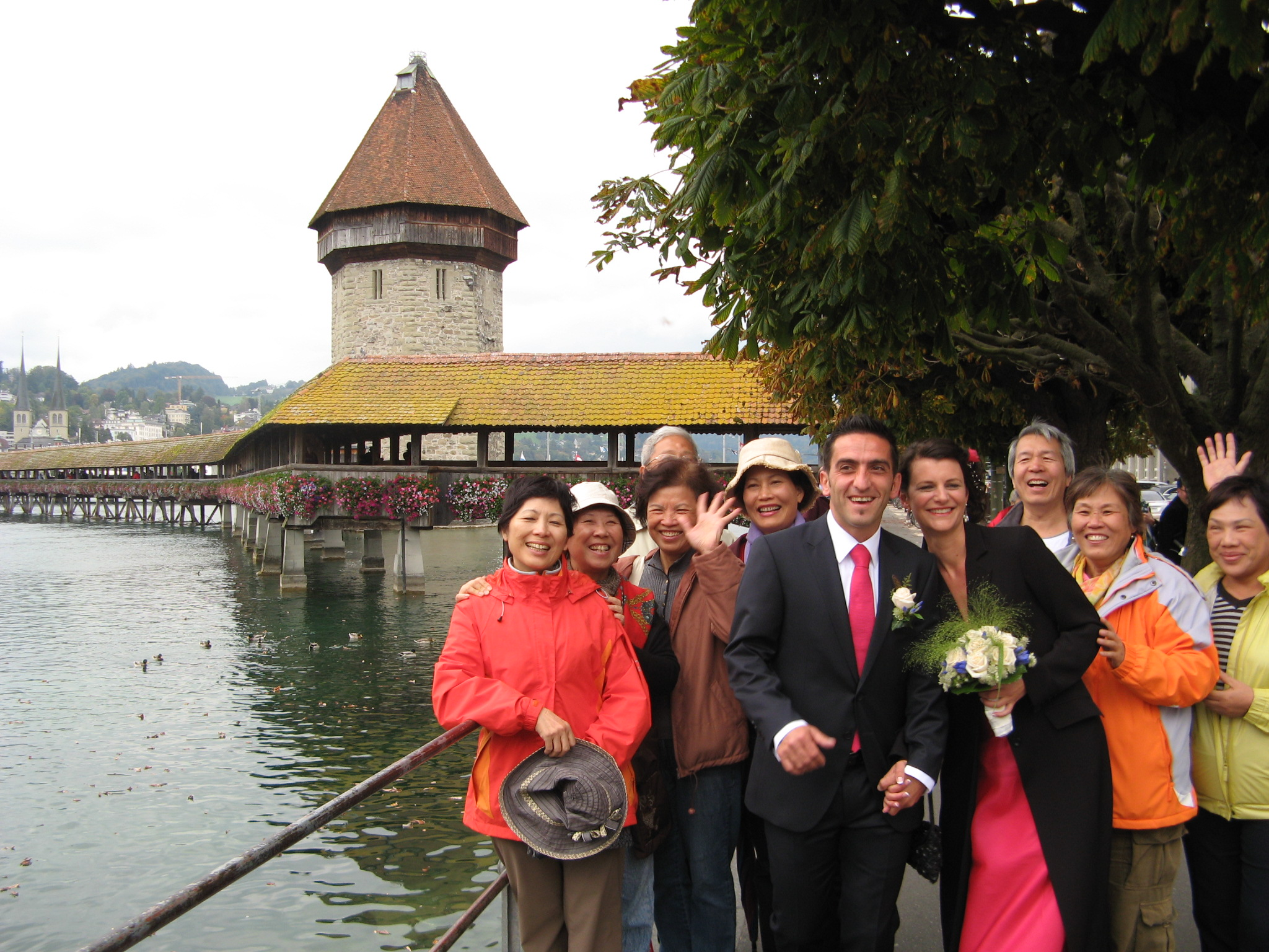 2010 wedding at Lucerne