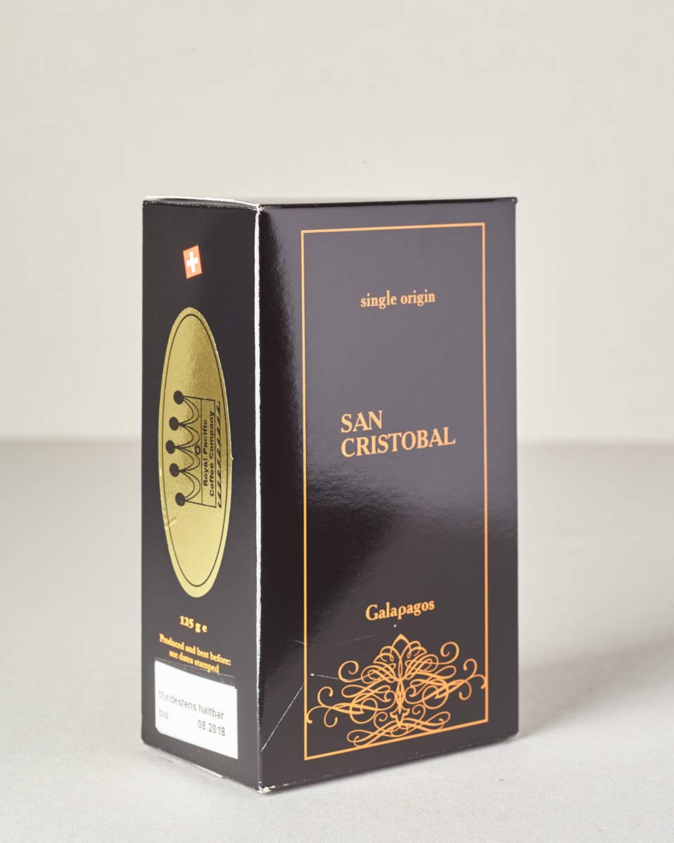 San Cristobal Galapagos Single Origin Coffee 125 Gramm Bohnen