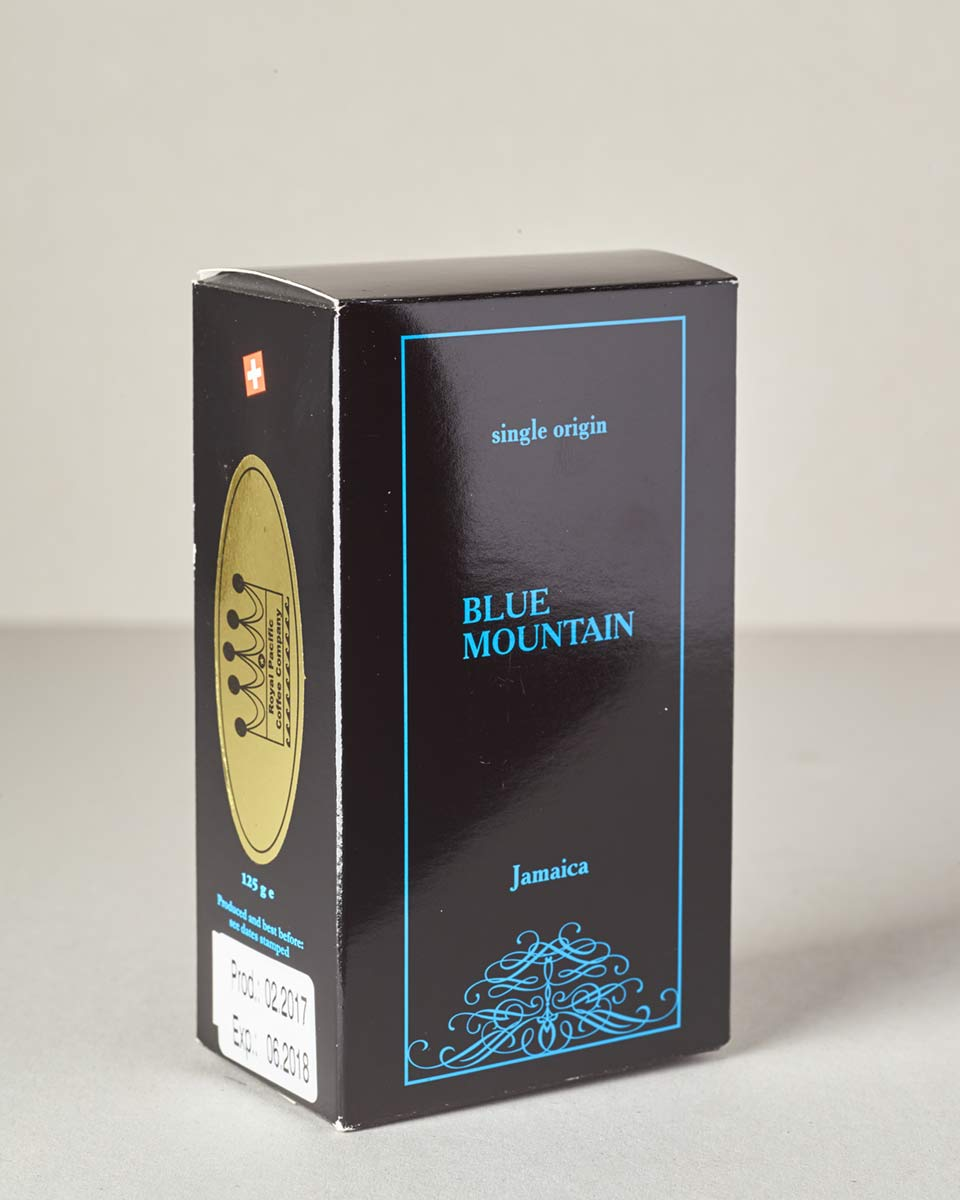 Jamaica Blue Mountain Single Origin Coffee 125 Gramm Bohnen
