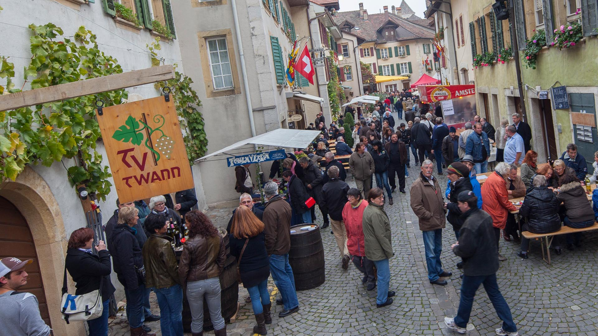 Weinfest am Bielersee in Twann - Truelete