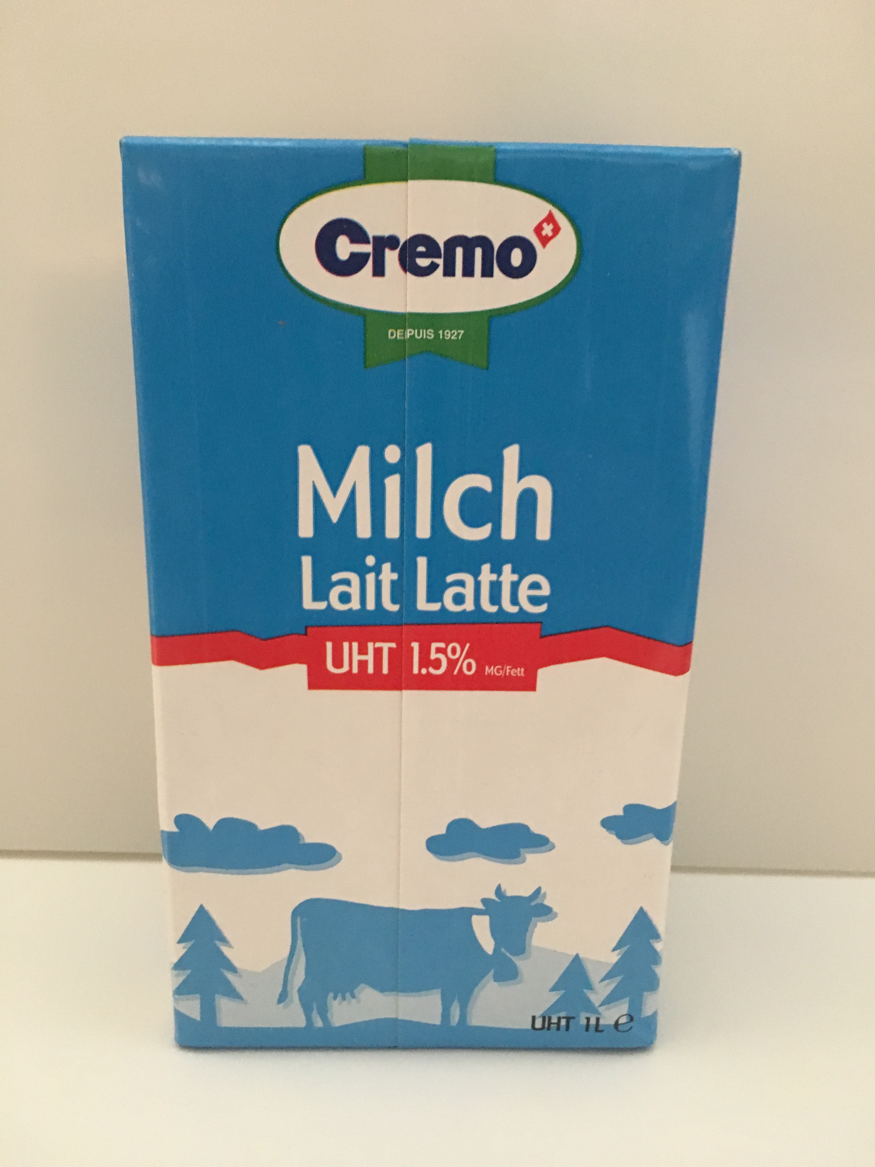 Milch: Drinkmilch UHT 1,5% Fett 0,5 ltr