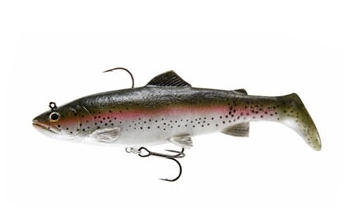 Savage Gear 3D Trout Rattle Shad - Regenbogenforelle