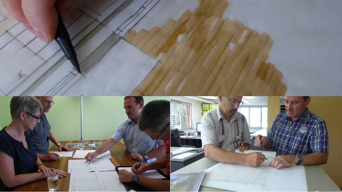 Küchenstil Küchenstyle Lebensstil Küchen Grobkonzept Skizzen