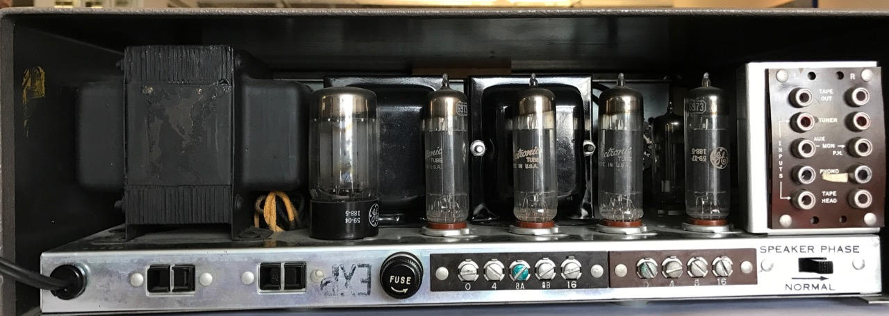 Amplifier General Electric MS-4000 110V (Stereo Röhrenverstärker 110V)