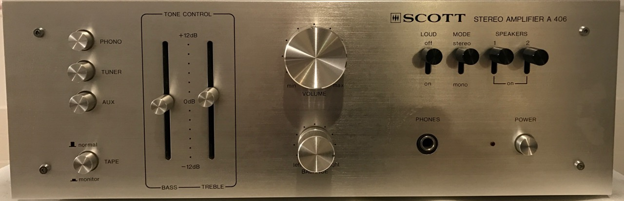 Amplifier Scott A 406